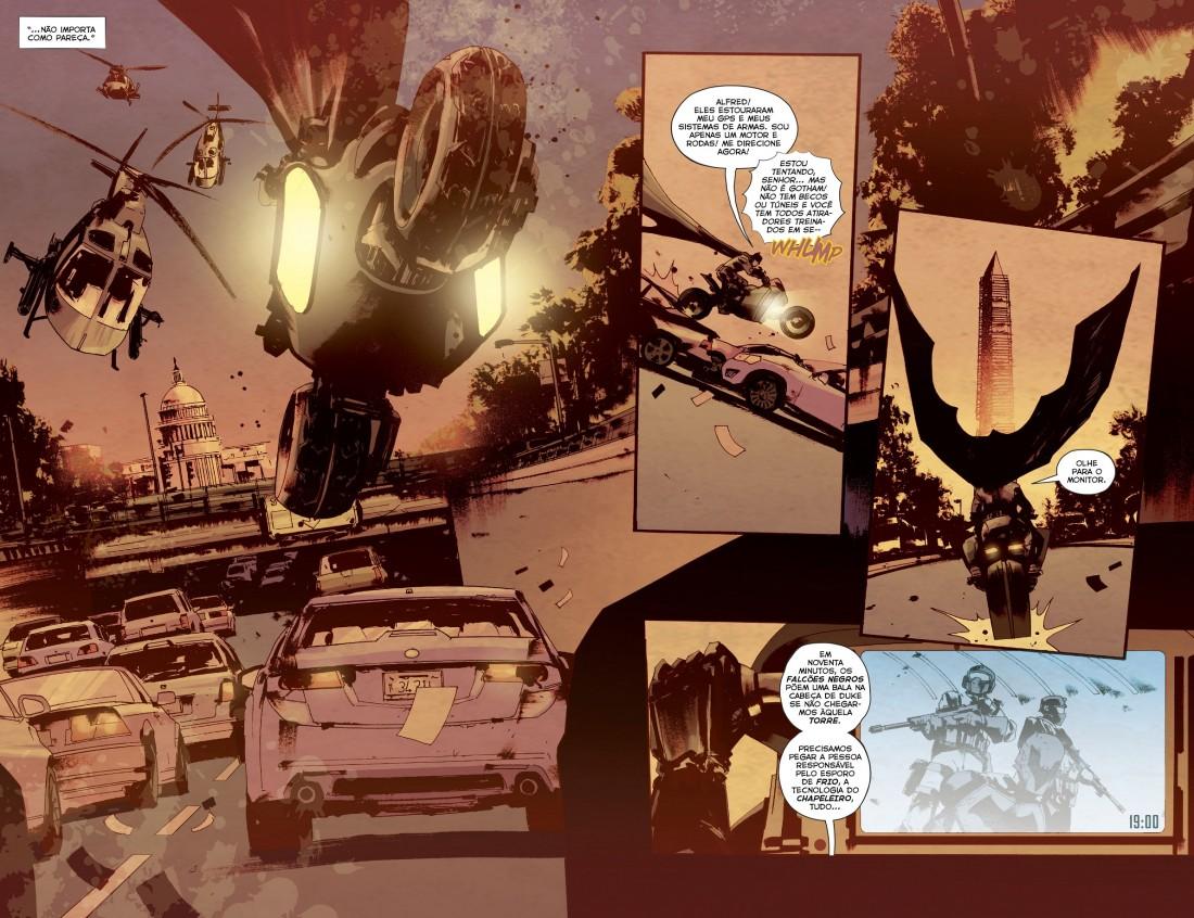 Grandes Astros - Batman Rebirth Nos Confins da Terra 5