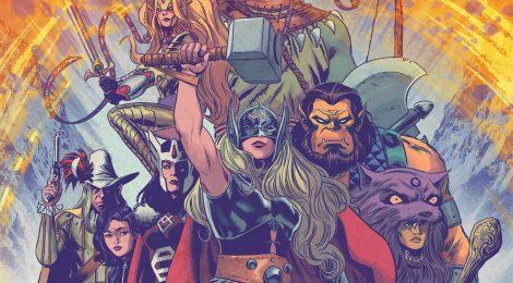 [Especial] A Poderosa Thor: A Origem do Mjolnir e a Nova Liga dos Reinos!